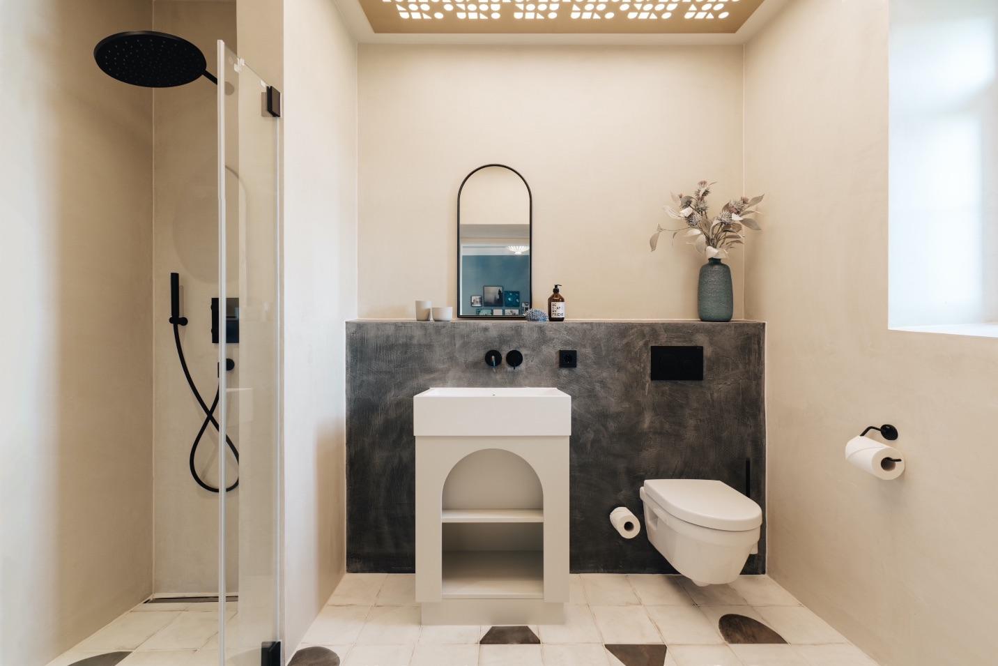 Badezimmer im Comfort Double