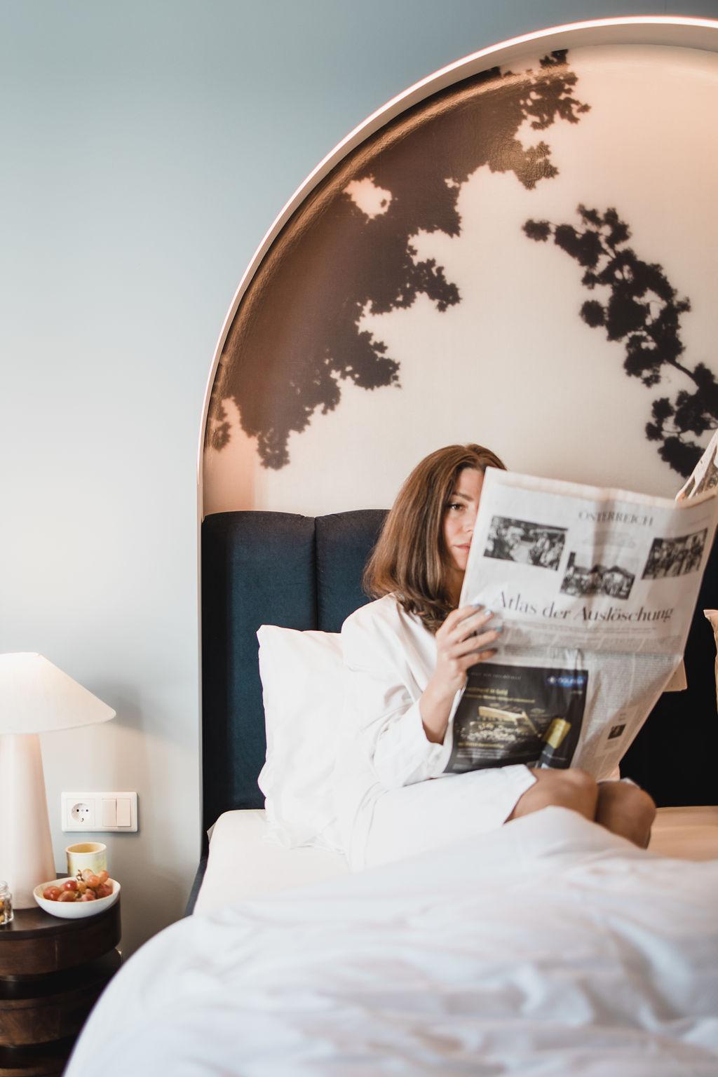 Aktuelle Zeitungen im Hotel